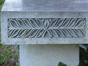 Cemetery - bench